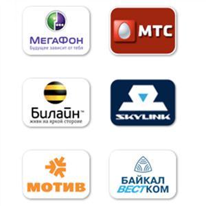 Операторы сотовой связи Одоева